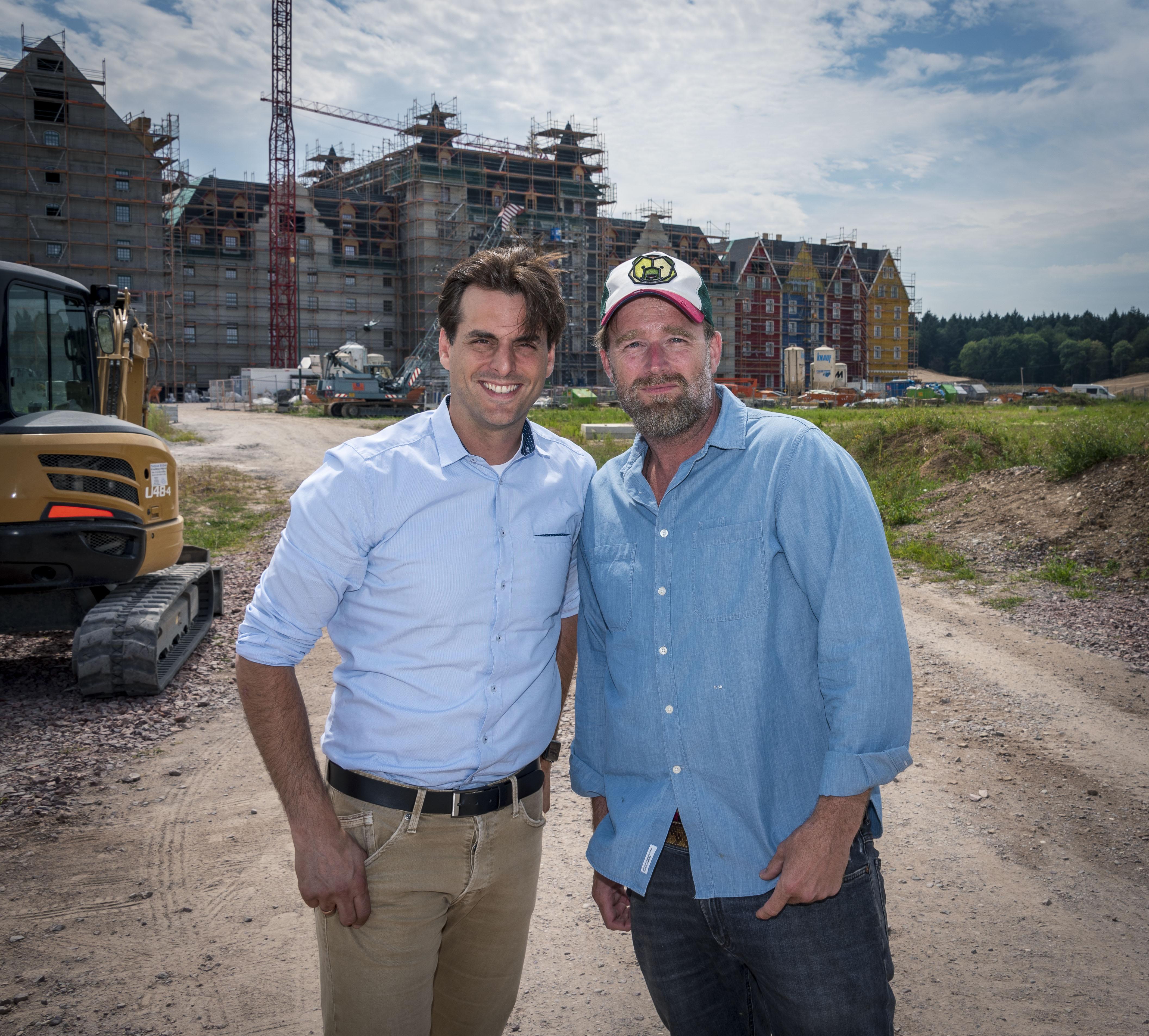Beeindruckt von den Ausmaßen der Resort-Erweiterung war der TV-Koch und Berater Brian Bojsen